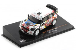 MINI Cooper Works Rally Wallonie 2013 Duval / Leyh - Ixo Models Escala 1:43 (RAM556)