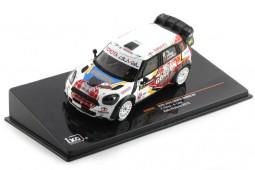 MINI Cooper Works Rally Wallonie 2013 Duval / Leyh - Ixo Models Scale 1:43 (RAM556)