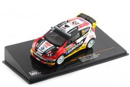 FORD Fiesta RS WRC Rally Monte Carlo 2014 J.Melicharek / E. Melicharek - Ixo Models Scale 1:43 (RAM570)