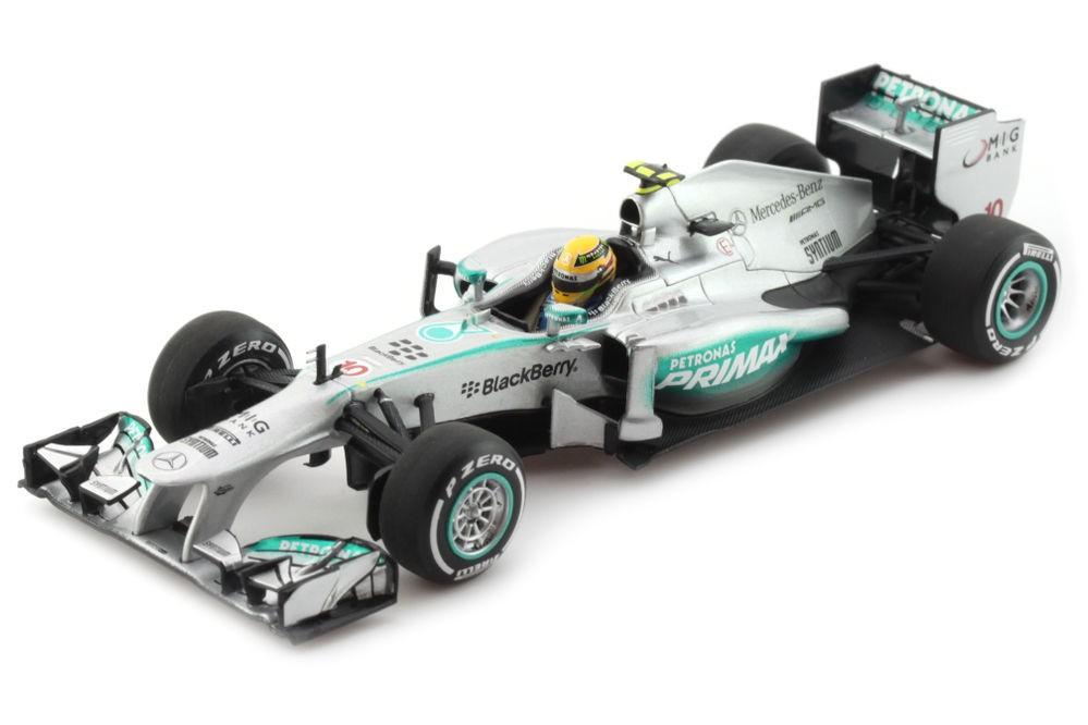 Mercedes amg f1 w04 gp f1 malaysia 2013 l hamilton for Cascos motogp altaya