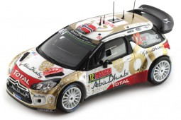 CITROËN DS3 WRC 4º Rally Monte Carlo 2015 M.Otrsberg/J.Andersson - Spark Scale 1:43 (S4508)
