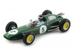 TEAM LOTUS Ganador BARC 200 Aintree 1962 Jim Clark - Spark Escala 1:43 (S2137)