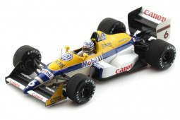 WILLIAMS FW12 GP F1 Monaco 1988 Riccardo Patrese - Spark Escala 1:43 (S4028)