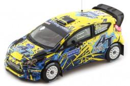 FORD Fiesta WRC Rally Finlandia 2013 Andersson/Axelsson - Ixo Models Escala 1:43 (RAM552)