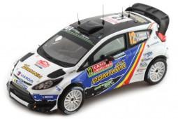 FORD Fiesta WRC Rally Monte Carlo 2014 Delecour/Savignoni - Ixo Scale 1:43 (RAM571)