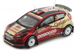 FORD Fiesta RRC Ganador Rally Australia 2014 Attiyah/Bernacchini - Ixo Escala 1:43 (RAM591)