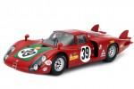 ALFA ROMEO 33/2 24H Le Mans 1968  I.Giunti / N.Galli - Spark Models Escala 1:18 (18S129)
