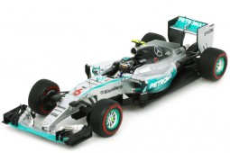 MERCEDES AMG W06 Ganador GP Monaco 2015 N.Rosberg - Spark Models Escala 1:43 (S4601)