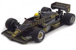 LOTUS Renault 97T Formula 1 1985 Ayrton Senna - Minichamps Escala 1:18 (540851812)
