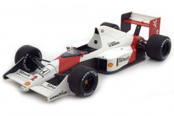 McLaren MP4/5 GP F1 Monaco 1989 Alain Prost - World Champion - True Scale Miniatures Scale 1:18 (TSM141821R)