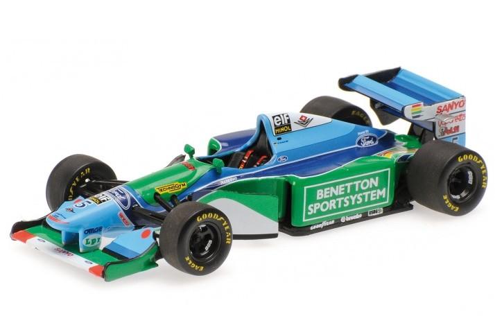 Benetton ford b194 ganador gp f1 monaco y camp on del for Cascos motogp altaya
