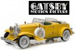 """DUESENBERG II SJ """"The Great Gatsby"""" 2013 - Greenlight Scale 1:18 (12927)"""