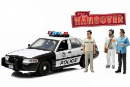 "FORD Crown Victoria Police Interceptor 2001  ""Hangover"" - Greenlight Scale 1:18 (12911)"