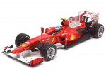 FERRARI F10 F1 GP Bahrain 2010 F.Alonso - Hot Wheels Escala 1:18 (T6287)