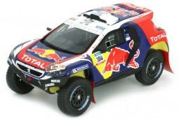 PEUGEOT DKR Dakar Rally 2015 C.Sainz / L.Cruz - Spark Scale 1:43 (S4455)
