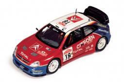 CITRÖEN XSARA WRC - nº18 - 1º Rally Sanremo 2003 - S. Loeb / D. Elena