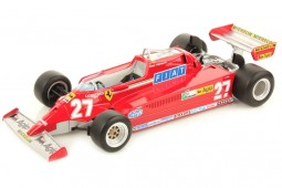 FERRARI 126 CK Formula 1 Winner GP Spain 1981 G.Villeneuve - LookSmart Scale 1:18 (LS18RC02)