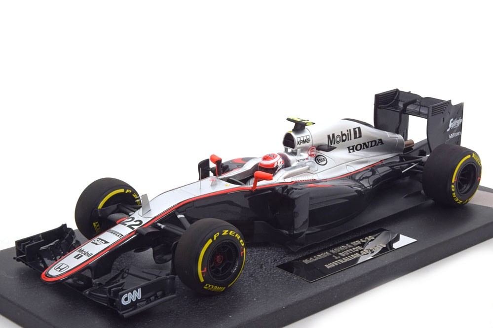 mclaren honda mp4 30 gp formula 1 australia 2015 j button minichamps scale 1 18 537151822. Black Bedroom Furniture Sets. Home Design Ideas