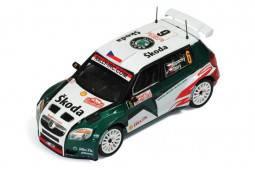 SKODA FABIA S2000 - nº6 - 4º Rally Monte Carlo 2009 - J. Kopecky / P. Stary