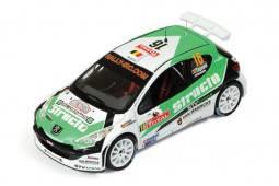 PEUGEOT 207 S2000 - nº16 Rally Bélgica 2009 - Tsjoen / Chevaillier