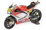 DUCATI Desmosedici GP12 MotoGP 2012 V.Rossi - Minichamps Escala 1:12 (122120046)