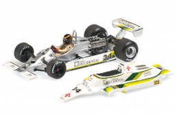WILLIAMS FW07 GP Formula 1 España 1980 Emilio de Villota - Minichamps Escala 1:43 (400800034)