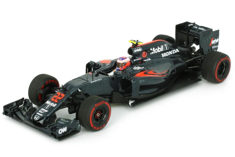 mclaren honda mp4 31 gp f1 australia 2016 jenson button spark scale 1 43 s5012 racing. Black Bedroom Furniture Sets. Home Design Ideas