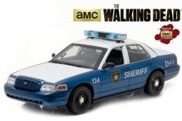 "FORD Crown Victoria Interceptor 2001  ""The Walking Dead - Rick & Shane"" - Greenlight Scale 1:18 (12957)"