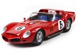 FERRARI 330 TRI LM Winner 24h Le Mans 1962 Gendebien / HIll - BBR Scale 1:18 (BBRC1803)