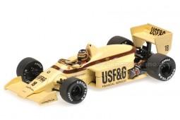 ARROWS BMW A8 Formula 1 British GP 1986 T. Boutsen - Minichamps Scale 1:43 (400860018)