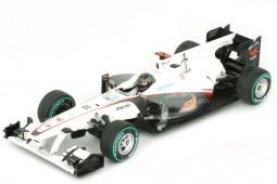 SAUBER C29 GP Formula 1 2010 N. Heidfeld - Spark Escala 1:43 (SJ002)