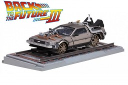 "DeLorean DMC 12  ""Regreso al futuro III""  Version Ferrocarril 1987 - SunStar Escala 1:18 (2714)"