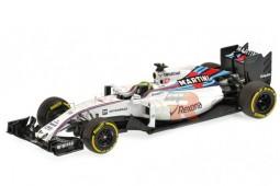 WILLIAMS Mercedes FW38 Formula 1 2016 F. Massa - Minichamps Escala 1:43 (417160019)