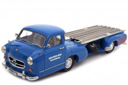 "MERCEDES-Benz Racing Transporter ""The Blue Wonder"" 1954 - CMC Models Scale 1:18 (M-143)"