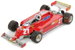 FERRARI 126 CK GP Formula 1 Monaco 1981 G. Villeneuve - LookSmart Escala 1:18 (LS18RC03)