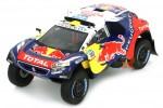 PEUGEOT DKR16 Ganador Rally Dakar 2016 S. Peterhansel - Spark Escala 1:43 (S4876)