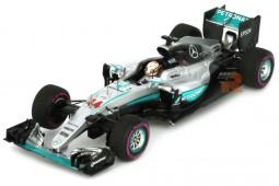 MERCEDES W07 Winner GP F1 Monaco L. Hamilton - Scale 1:43 (S5001)