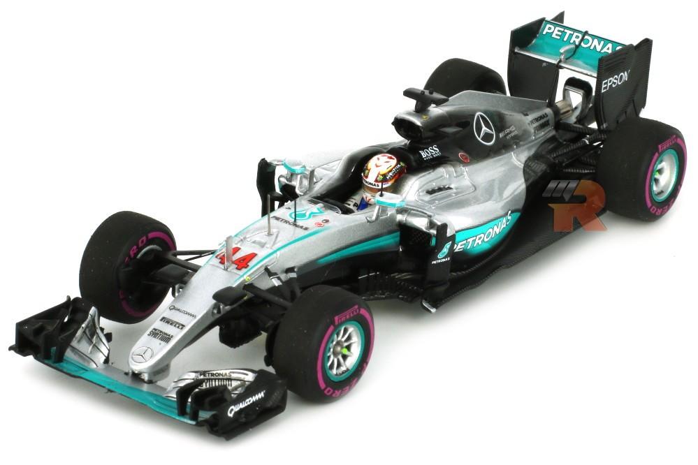 Mercedes w07 ganador gp f1 monaco 2016 l hamilton spark for Cascos motogp altaya