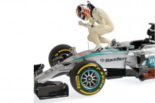 MERCEDES AMG W06 Ganador GP F1 USA 2015 L. Hamilton - Minichamps Escala 1:18 (110150544)