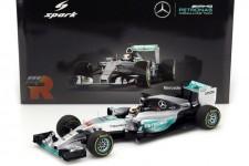 MERCEDES AMG W07 Ganador GP Monaco 2016 L. Hamilton - Spark Escala 1:18 (18S243)