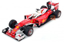 FERRARI SF16-H GP Australia 2016 Vettel (Vitrine Included) - LookSmart Scale 1:18 (LS18F104)