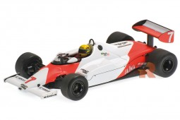 McLaren MP4-1C F1 Test Car Silverstone 1983 A. Senna - Minichamps Escala 1:43 (540834307)