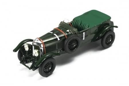 BENTLEY Speed Six - nº1 - 1º Le Mans 1929 - W. Barnato / H. Birkin