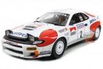 TOYOTA Celica Winner RAC Rally 1992 C. Sainz / L. Moya - Top Marques Scale 1:18 (TOP34B)