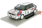 LANCIA 4WD Winner Rally Monte Carlo 1987 M. Biasion / T. Siviero - Top Marques Scale 1:18 (TOP24A)