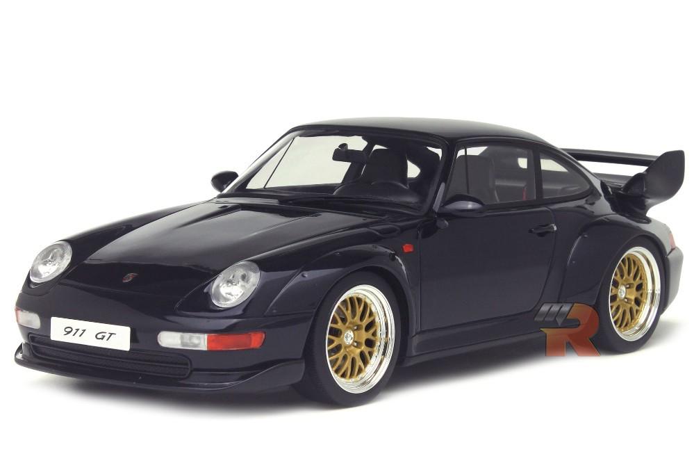 porsche 911 993 gt 1995 gt spirit scale 1 18 gt144 racing modelismo. Black Bedroom Furniture Sets. Home Design Ideas