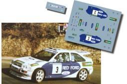 Ford Escort Cosworth Luis Monzon Rally Principe de Asturias 1996 Asfalto