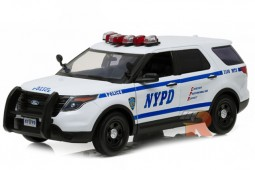 FORD Police Interceptor NYPD 2015 - Greenlight Scale 1:18 (12973)