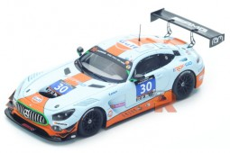 MERCEDES AMG GT3 24h Paul Ricard 2016 Hall / Goethe / Brown - Spark Escala 1:43 (SF111)