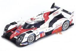 TOYOTA TS050 Hybrid 3rd 24h Le Mans 2016 Davidson / Buemi / Nakajima - Spark Scale 1:43 (s5102)